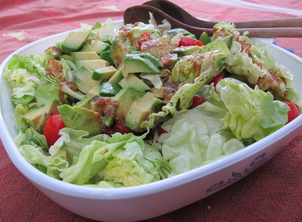 Butter Lettuce Salad with Wasabi Dressing - Koko Likes ...