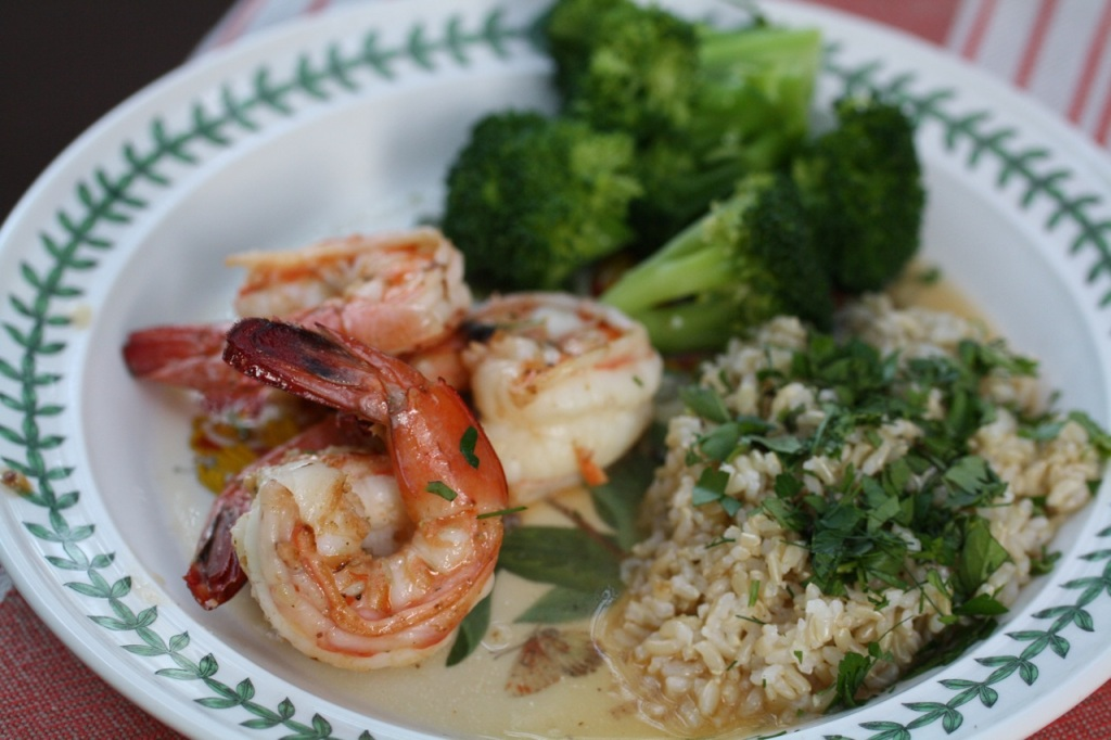 Pan-Seared Shrimp with Garlic-Lemon Butter - Koko Likes — Koko Likes
