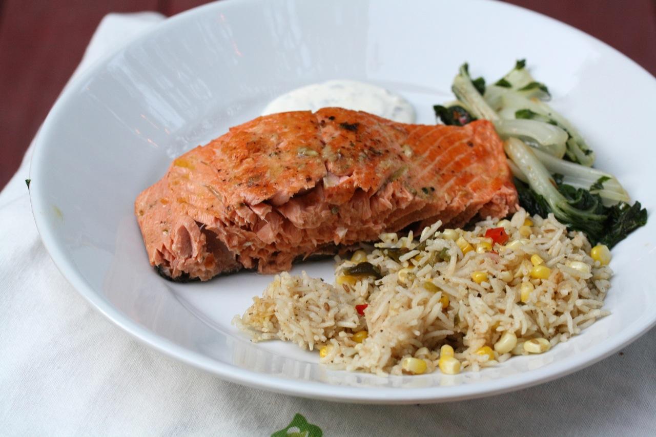 Restaurant Style Salmon Koko Likes Koko Likes